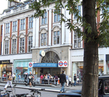 High Street Kensington Tube Station