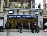 Liverpool Street Tube Station