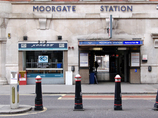 Moorgate Tube Station