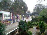 Chesham Tube Station