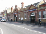 East Ham Tube Station